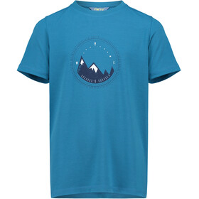 Meru Veria SS Shirt Kids Blue Saphire
